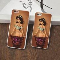Пластиковый чехол накладка с рисунком для iPhone 6s / 6 Princess Jasmine Принцесса Жасмин
