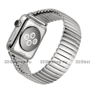 Стальной растягивающийся ремешок - браслет для Apple Watch 42mm