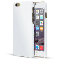 Пластиковый чехол для iPhone 7 / 8 белый - Soft Touch Plastic Case White