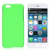 Пластиковый чехол для iPhone 7 зеленый - Soft Touch Plastic Case Green