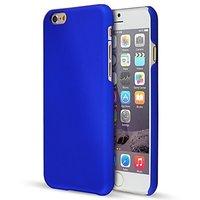 Пластиковый чехол для iPhone 7 синий - Soft Touch Plastic Case Blue