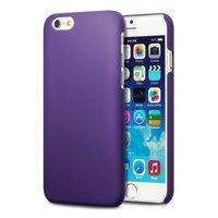 Пластиковый чехол для iPhone 7 фиолетовый - Soft Touch Plastic Case Purple