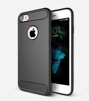 Черный защитный пластиковый чехол для iPhone 7 / 7s - USAMS Cool Series Luxury Case Black