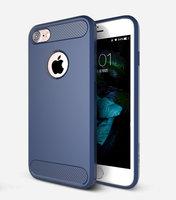 Синий защитный пластиковый чехол для iPhone 7 - USAMS Cool Series Luxury Case Blue