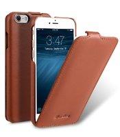 Коричневый кожаный чехол Melkco для iPhone 7 - Melkco Leather Case Jacka Type Brown