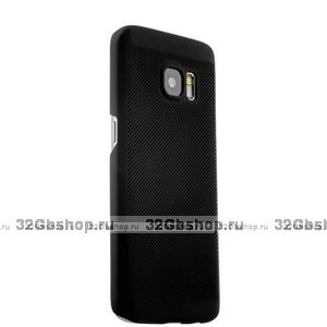 Силиконовый чехол для Samsung Galaxy S7 Edge черный