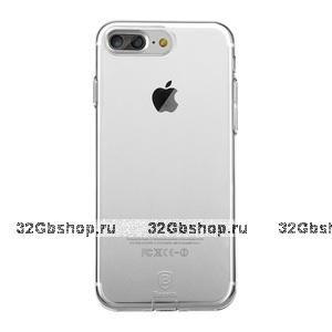 Тонкий прозрачный силиконовый чехол для iPhone 7 Plus