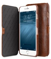 "Коричневый чехол книжка для iPhone 7 Plus (5.5"") - Melkco Mini PU Leather Case Booka Stand Type (Brown)"