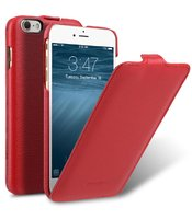 "Красный кожаный чехол для iPhone 7 Plus (5.5"") - Melkco Premium Leather Case Jacka Type (Red LC)"