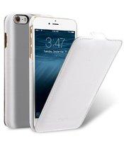 "Белый кожаный чехол для iPhone 7 Plus / 8 Plus (5.5"") - Melkco Premium Leather Case Jacka Type (White LC)"