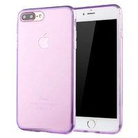"""Прозрачный фиолетовый силиконовый чехол для iPhone 7 Plus (5.5"""")"""