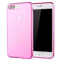 """Прозрачный розовый силиконовый чехол для iPhone 7 Plus (5.5"""")"""
