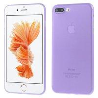 Фиолетовый ультратонкий пластиковый чехол для iPhone 7 Plus