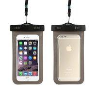 Черный водонепроницаемый чехол для iPhone 7 карман