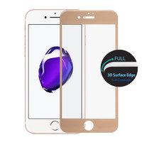 "Защитное 3D стекло для iPhone 7 (4.7"") с золотой рамкой - 3D Curved Full Coverage Tempered Glass Gold"