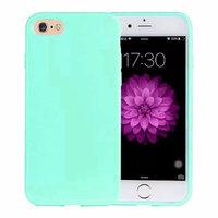 Зеленый глянцевый силиконовый чехол для iPhone 7