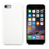Белый кожаный чехол для Apple iPhone 7 Leather Case White