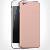 Пластиковый чехол для iPhone 7 розовое золото - Soft Touch Plastic Case Rose Gold