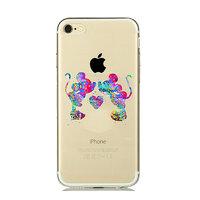 Силиконовый чехол для iPhone 7 с рисунком Мики и Мини