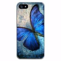 Силиконовый чехол для iPhone 7 рисунок Бабочка