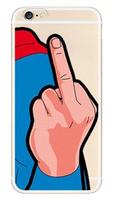 Силиконовый чехол для iPhone 7 / 8 рисунок Супермен - Superman