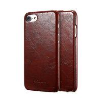 Чехол флип Fashion Case для iPhone 7 коричневый