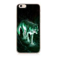 Силиконовый чехол для iPhone 7 с рисуноком Волк
