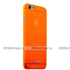 Накладка супертонкая XINBO для iPhone 6 / 6s Оранжевая