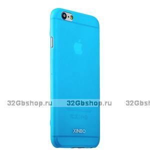 Накладка супертонкая XINBO для iPhone 6 / 6s Голубая