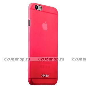 Накладка супертонкая XINBO для iPhone 6 / 6s Розовая