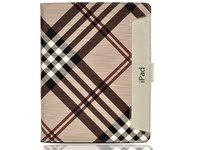 Чехол книжка Maqbiq Beige Burberry для iPad mini 3 / 2