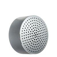 Портативная Bluetooth колонка Xiaomi Portable Round Box Speaker Silver Серебристая