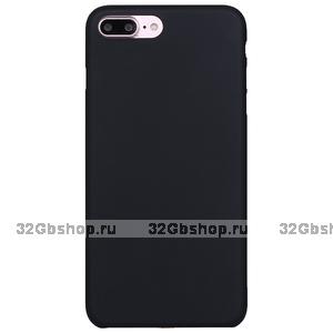 Черный ультратонкий пластиковый чехол XINBO для iPhone 7 Plus
