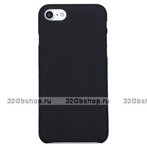 Черный ультратонкий пластиковый чехол XINBO для iPhone 7