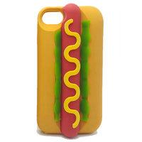 Чехол накладка для iPhone 7 силикон ХОТ ДОГ hotdog