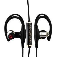 Черные наушники с микрофоном беспроводные для iPhone 7 / 7 Plus - Hoco EPB03 Magnetic Wireless Sport Earphone Bluetooth 4.1 Black