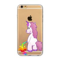 Пластиковый чехол накладка для iPhone 7 Единорог