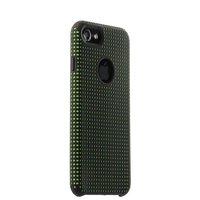 Защитный силиконовый чехол для iPhone 7 черный c зелеными точками COTEetCI Vogue Silicone Case