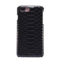 Чехол из змеиной кожи для iPhone 7 Plus черный питон
