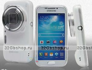Прозрачный силиконовый чехол для Samsung Galaxy S4 Zoom