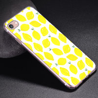 Силиконовый чехол для iPhone 7 - рисунок Лимон