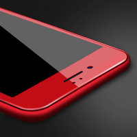 """Защитное 3D стекло для iPhone 7 / 8 (4.7"""") с красной рамкой - 3D Premium Tempered Glass"""