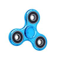 Spinner для рук Спиннер серебристо синий
