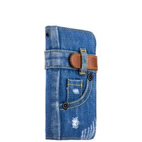 """Чехол-книжка XOOMZ для iPhone 7 / 7s (4.7"""")  джинсовый"""