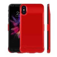 Красный чехол аккумулятор для iPhone X