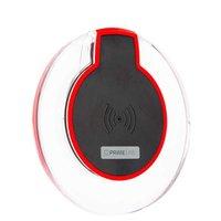 Черное беспроводное зарядное устройство для iPhone X - Prime Line 2400 Black стандарт Qi 5V 1A