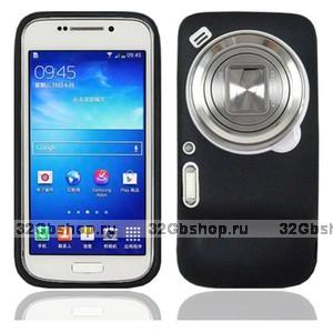 Черный силиконовый чехол для Samsung Galaxy S4 Zoom