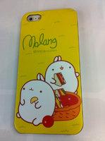 Накладка MOLANG Rabbit для iPhone 5 / 5s / SE зайцы на пикнике