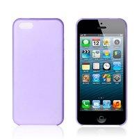 Ультратонкий чехол накладка для iPhone 5c фиолетовый