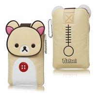 Чехол карман для Samsung Galaxy S4 - Rilakkuma Case Beige - бежевый медвежонок